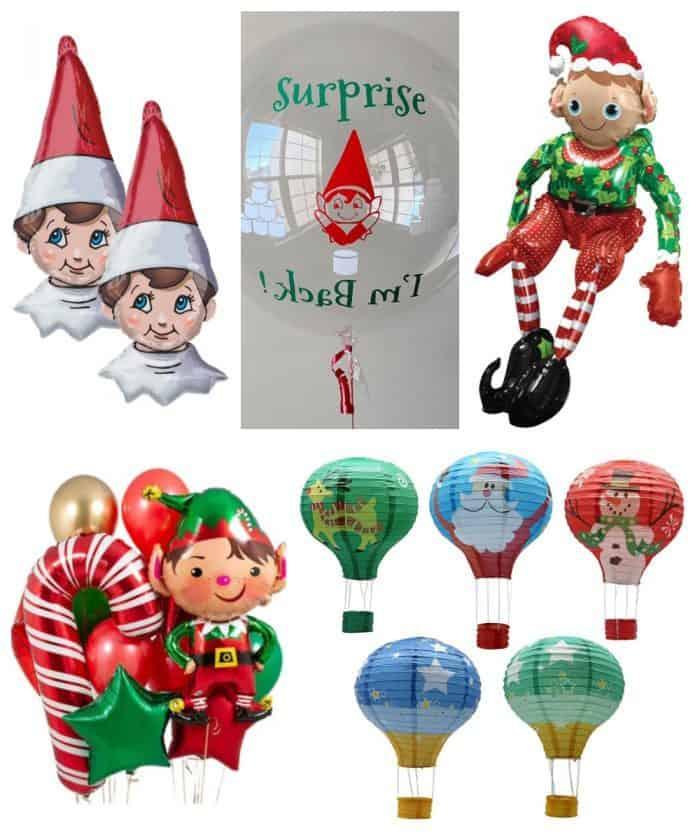 Elf on the Shelf Balloons