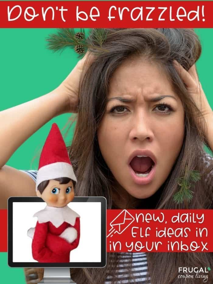 Elf on the Shelf email