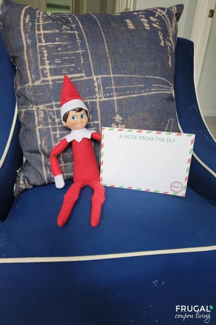 Elf on the Shelf Header Letter