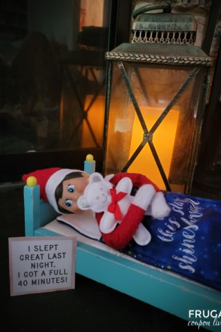 Elf on the Shelf Bed