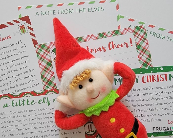 What do you write in an elf on the shelf letter?