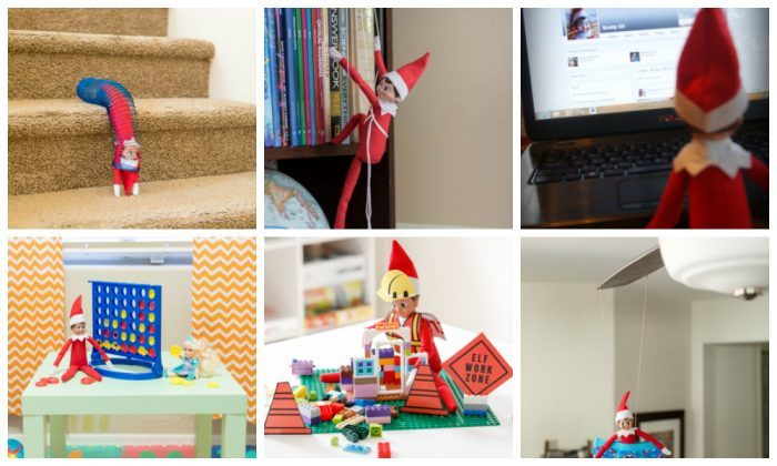 Elf on the Shelf Hiding Spots in the Playroom