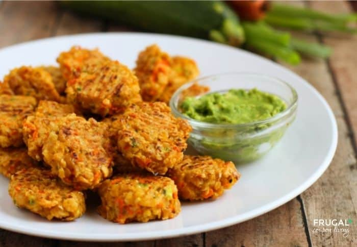 how to make Veggie Loaded Chickpea Nuggets