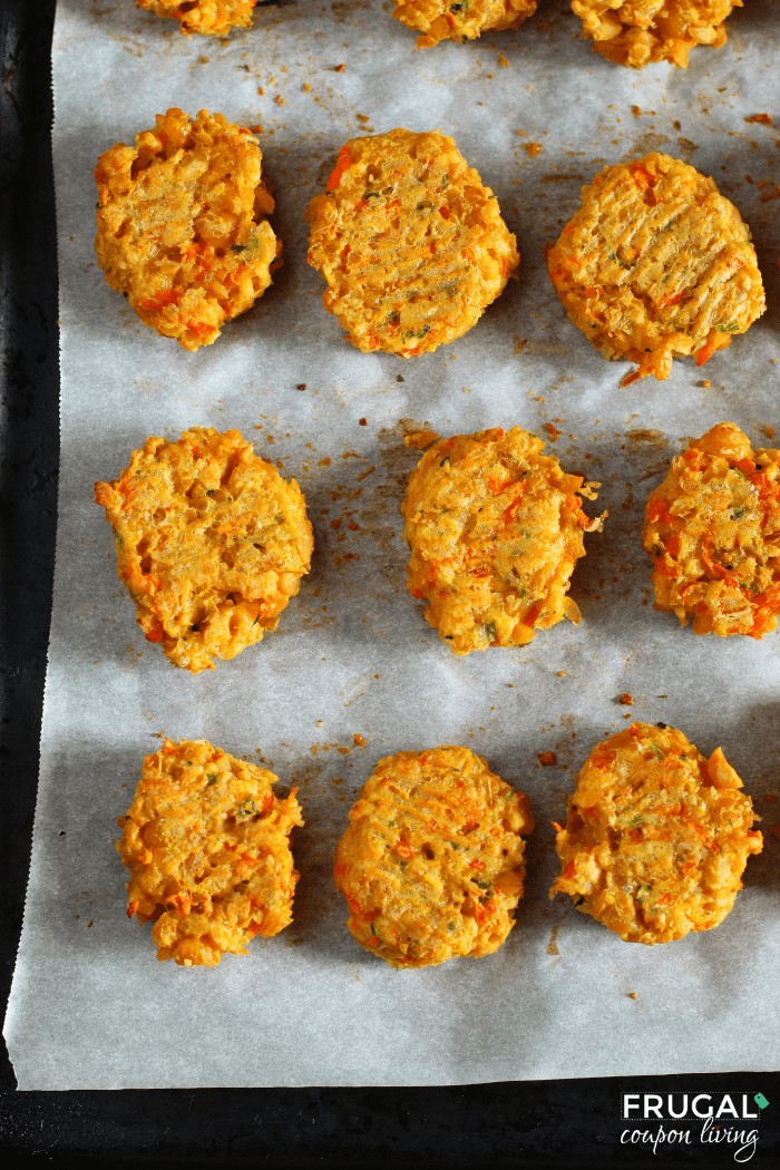 Golden-brown Chickpea Nuggets