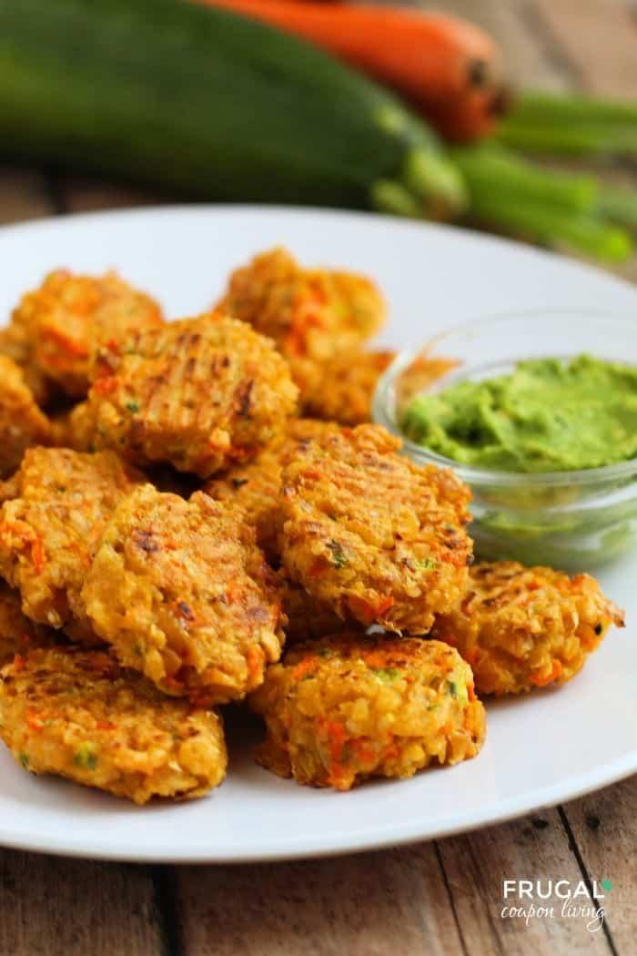 Easy Veggie Chickpea Nuggets Recipe