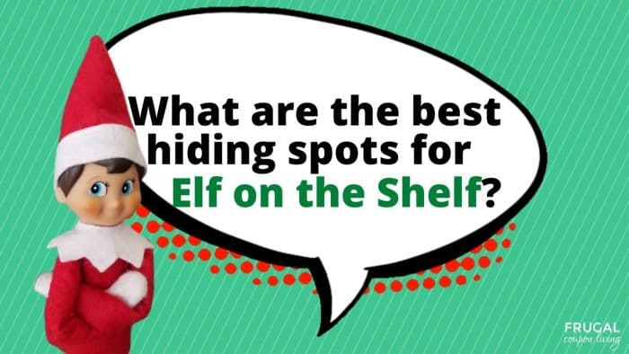 What are the best hiding spot for Elf on the Shelf