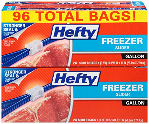 Stock Up Price on Hefty Storage Bags! Only $0.06 a bag!