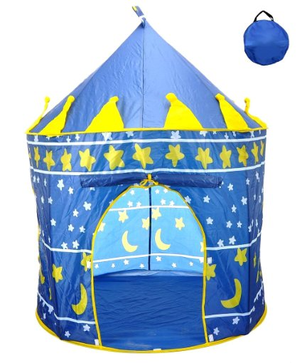 Amazon: Reading/Play Tent! 71% off! Star Castle House Indoor/Outdoor Blue only $19