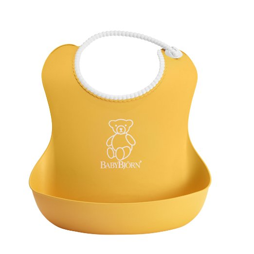 BabyBjorn Soft Bib – Dishwasher safe, Easy to clean – Cute & only $8!!