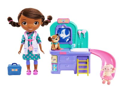 Doc McStuffins Pet Clinic Doll (FFP) – only $13.74 (reg. $45!!)