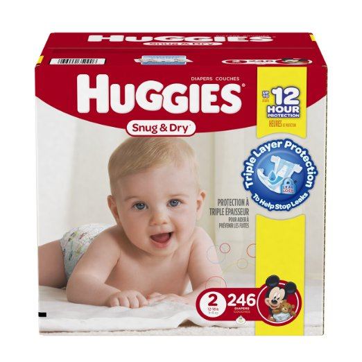 Huggies Diapers as low as $0.10 a diaper! HURRY!