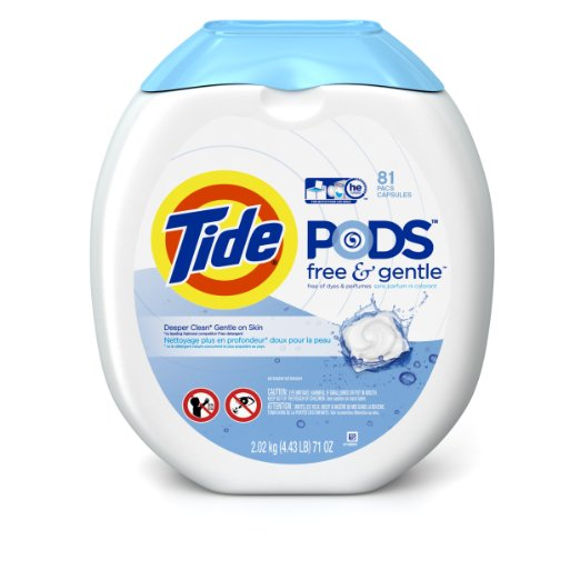 Deal is BACK! Tide Pods Free & Gentle & Turbo both between $12-$13!