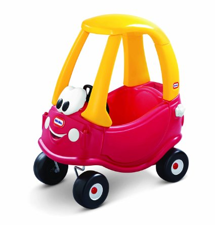 Amazon: Little Tikes COZY COUPE cars – Red or Pink — SALE only $39.99!