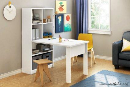 Amazon: PERFECT White Kid's Desk w/ample storage – LOWEST Price $116.47
