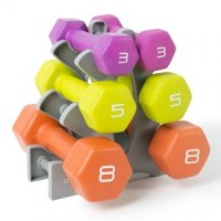 50% off Dumbbell set - 3 sets of weights only $29!