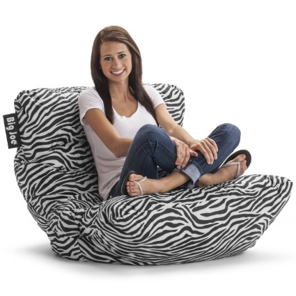 Amazon: Big Joe Roma Chair, Zebra for office, bedroom, playroom! Only $28.85 (reg. $86)!!