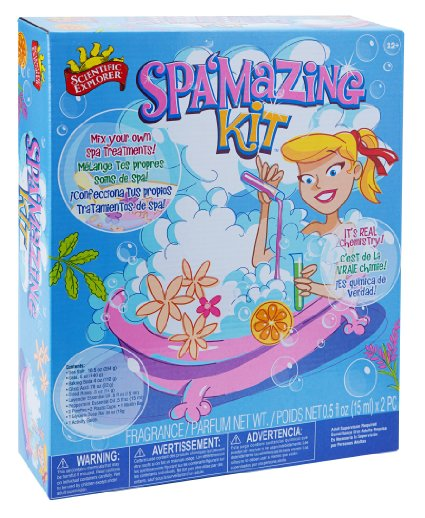 56% off Scientific Explorer SPA'Mazing kit all natural pampering! – ONLY $10.99!!