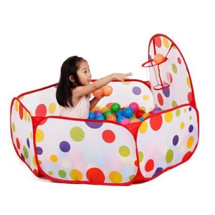 Amazon: CHEAP ENTERTAINMENT!  200pcs Colorful – Only $7.88!! AND Ball pit only $11!!