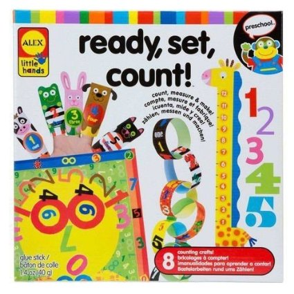Amazon: ALEX Toys Little Hands Ready Set Count – only $9!!