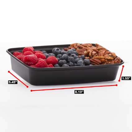 Amazon: Healthy Meal Prep Containers – Reusable, Washable, Microwavable Food Containers with Lids (7 Pack) – Only $9.97