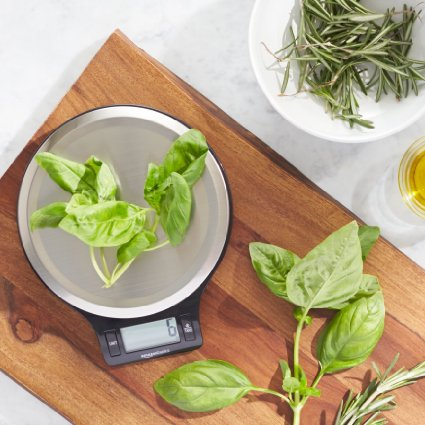 AmazonBasics Digital Kitchen Scale with LCD Display – Only $9.99!!