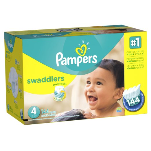 *NEW* COUPON — 50% off Pampers BACK!!! STOCK UP Diaper Prices!