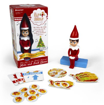 Only $4.09! Elf on the Shelf Hide & Seek Game — Based on the Bestselling Book