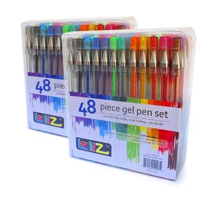 Amazon: 2 PACKS of LolliZ Gel Pens 48 Count Pens for just $14.99 (reg. $50) – $7.49 each!!
