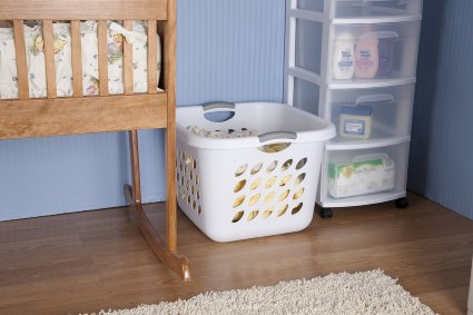 BACK IN STOCK – Sterilite Ultra Square Laundry Basket 6 pack! Only $25!!