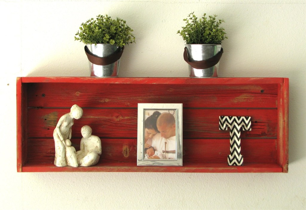 Who loves some Reclaimed wood in your home!?! Shadow boxes, Shelves & Bathroom Rack!