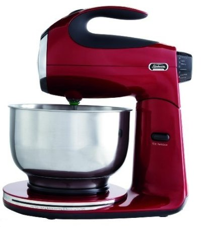 Amazon: Sunbeam Heritage Series 4.6 Quart Stand Mixer in Red Only $62.43  (reg. $149.99)!!!