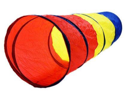 PRICE DROP – 6-feet Play Tunnel Toy Tent Child Kids Pop up Discovery Tube Playtent – Only $5.98!