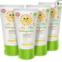 COUPON BACK! Babyganics Mineral-Based Baby Sunscreen Lotion, SPF 50, (Pack of 4) - Only $10.38!!