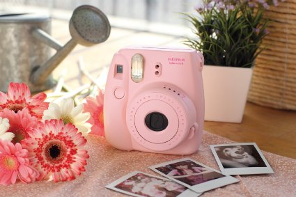 Fujifilm Instax Mini 8 Instant Film Camera in white/black or PINK Multiple colors – only $49.99 (reg. $70)