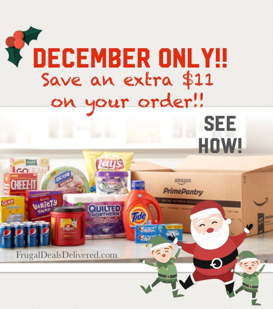 Prime Pantry – *BEST FRUGAL DEALS* for December!