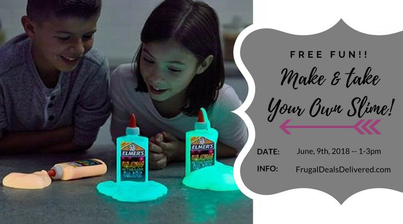 What's better than SLIME?! When it's FREE!! – June 9th!!!