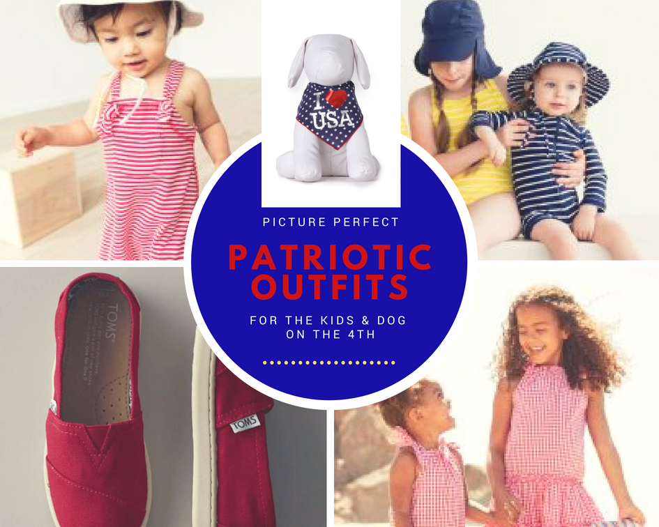 Picture-Perfect Patriotic Kids & Baby Outfits for the 4th!