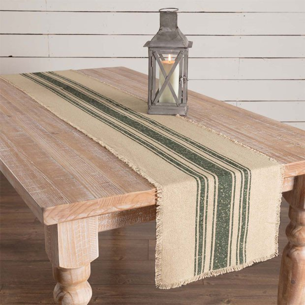 Saturday Sales, Antique Farmhouse, Burlap Table Runner, Farmhouse Dining Room, Farmhouse Decor