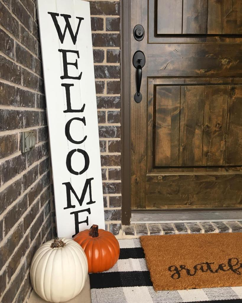 Fall Home Tour, Simple Fall Decor, Home Tour 2018