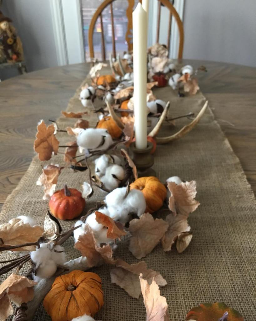 Fall Home Tour, Simple Fall Decor, Home Tour 2018, Fall Tablescape