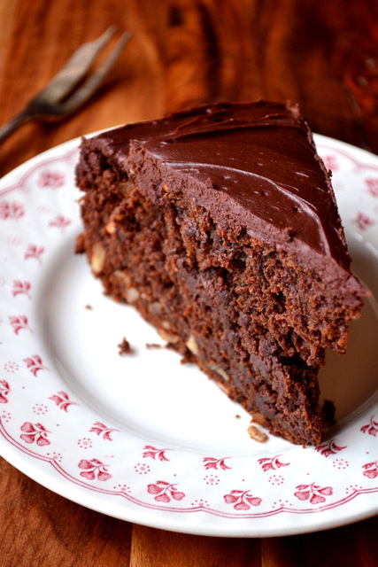 Chocolate Courgette Cake Recipe Frugalfeeding