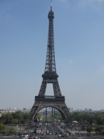 View of Eiffel Tower from the Trocadero