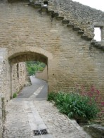 archway with laneway