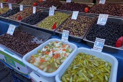Olives ready for eating