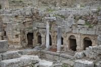 Ruins in Corinth Greece