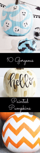 10 Gorgeous Painted Pumpkins