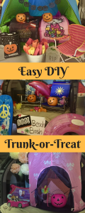 Easy DIY Trunk Or Treat Ideas