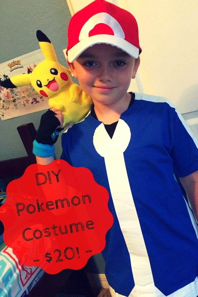 DIY Pokemon Costume For Just $20