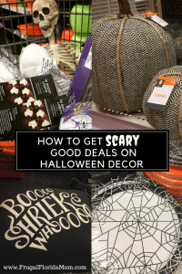 How To Get Scary Good Deals On Halloween Decor