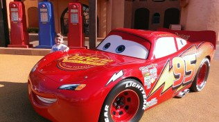 Cars attraction at Disney World Art of Animation resort - A Frugal Mom's Guide To Disney - 10 Ways To Save At Disney
